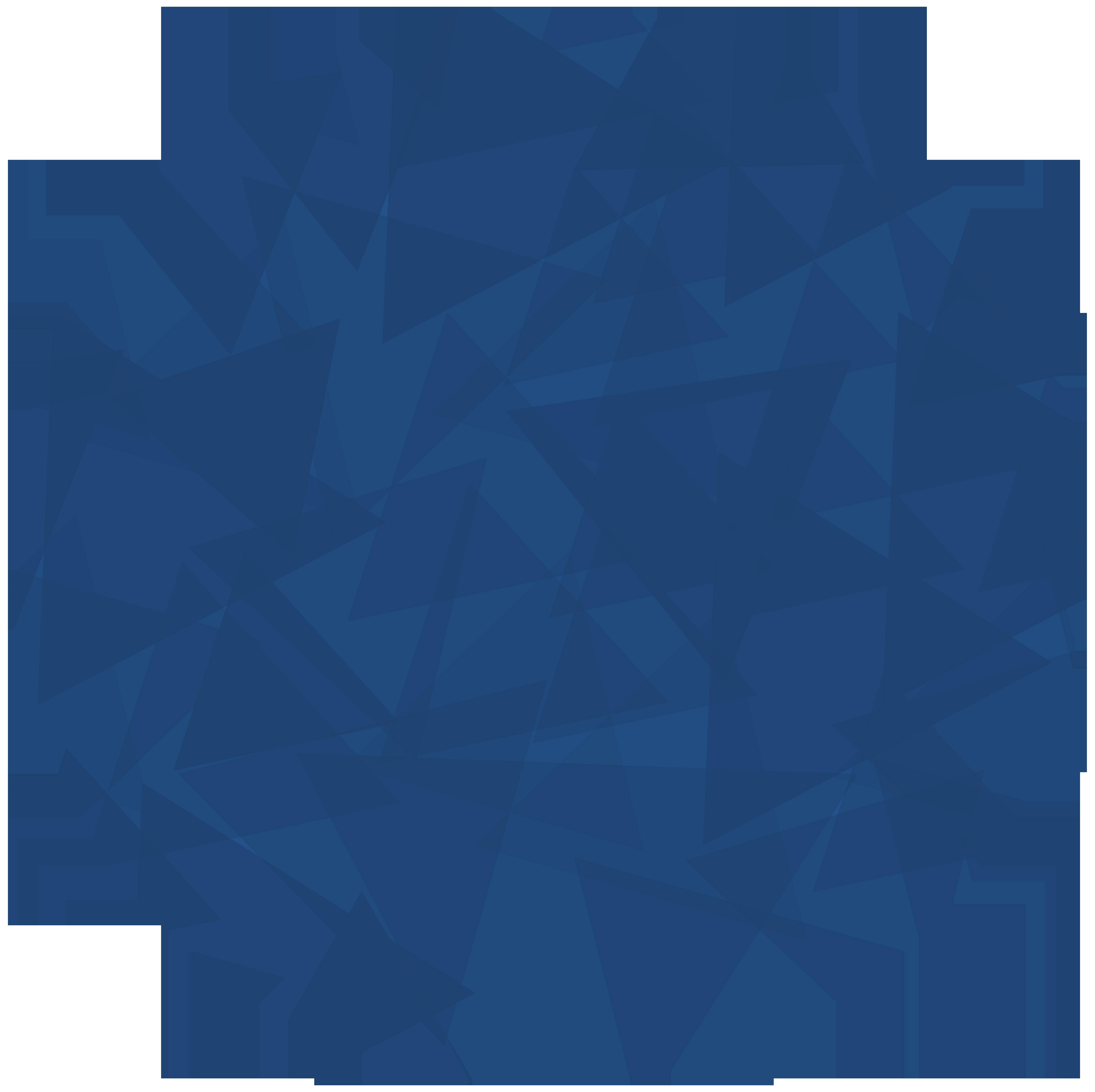 polygone-Blau Kreis-4